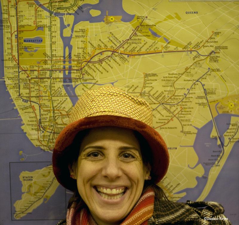 hat & map
