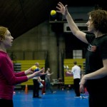 Teaching a kid to juggle