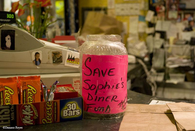 Save Sophie's collection jar