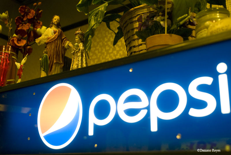 No Coke. Pepsi.