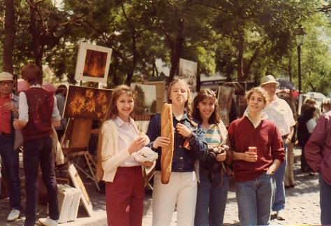 Paris, summer 1982
