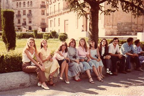 Salamanca, summer 1982