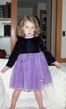 Annika fancy dress