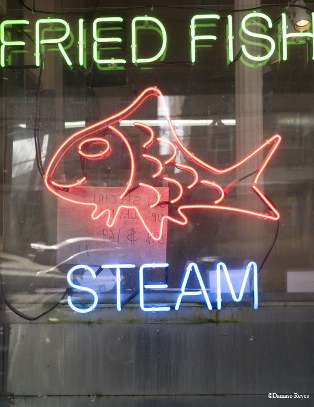 Fried Fish Steam