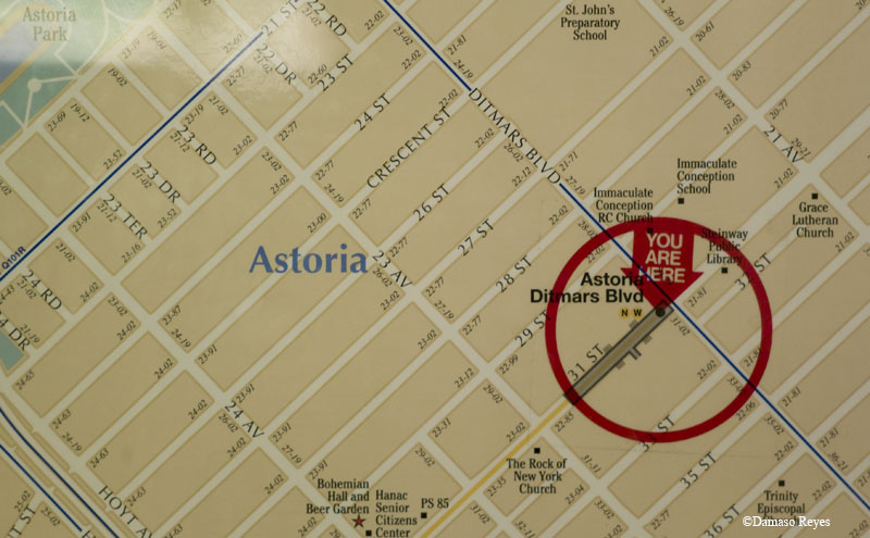 You Are Here: Astoria