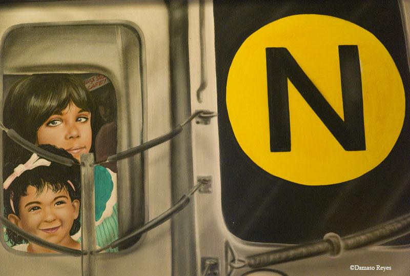 Painted N train