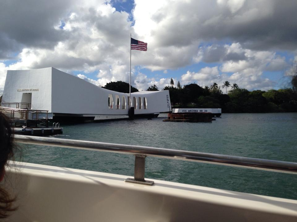Arizona Memorial, Pearl Harbor, Honolulu, Hawaii