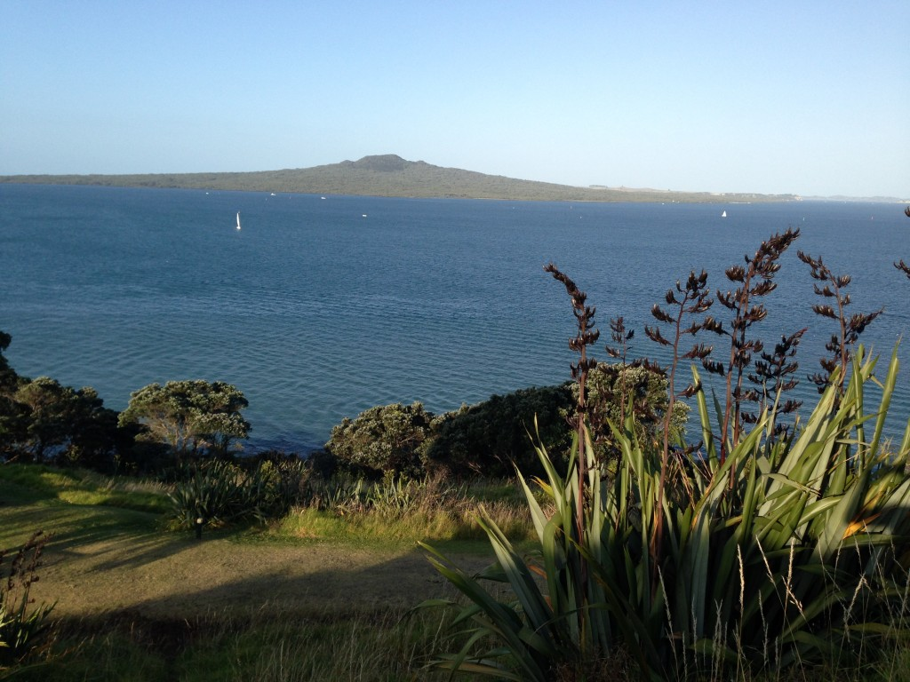 Rangitoto Island view from Devenport, NZ