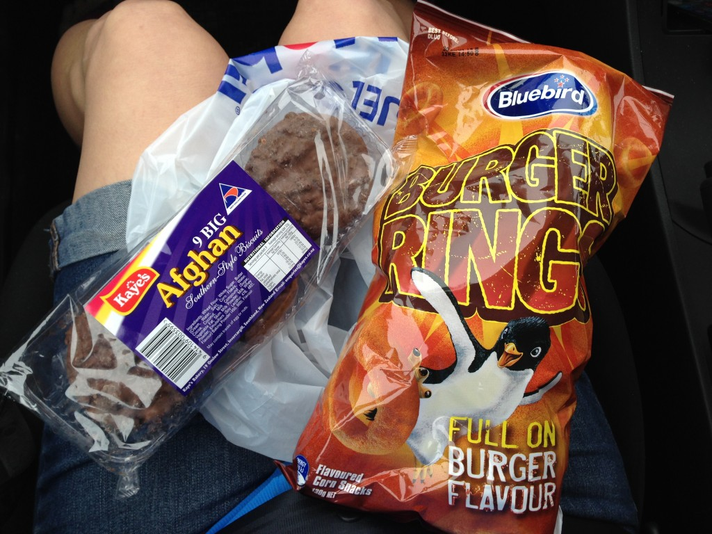 Road snacks, NZ