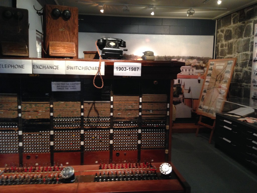 Switchboard, Geraldine Historical Society Museum, NZ