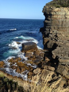 Cliff, Tasmania, Australia