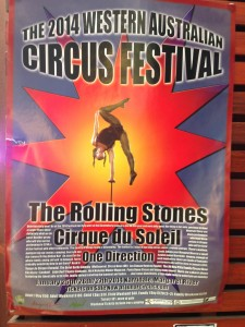 Circus festival poster