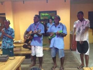Fijian good-bye song