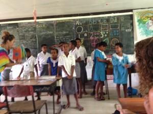 Chorus in class