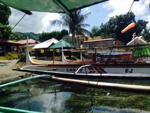 Taal Lake boat