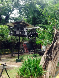 Birdhouses at Fort Santiago
