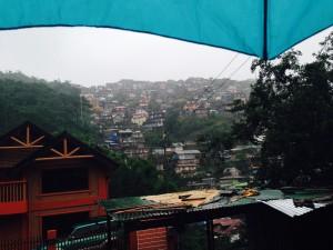 Baguio hillside